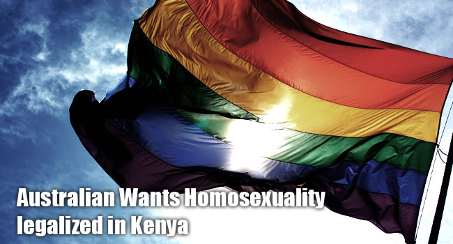 Is homosexuality to be legalized in Kenya?