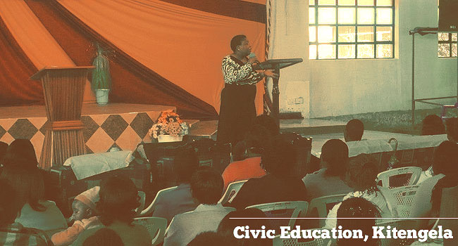 Civic Education, Kitengela