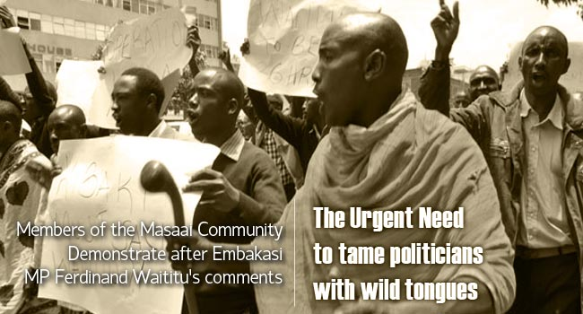 The urgent need to tame politicians with loose tongues