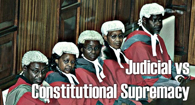 Judicial vs Constitutional Supremacy