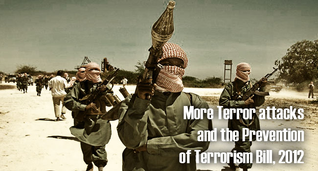 More Terror Attacks and the Prevention of Terrorism Bill