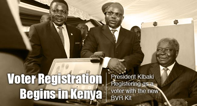 Voter Registration Begins