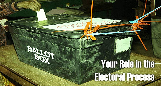 Your role in the Electoral Process