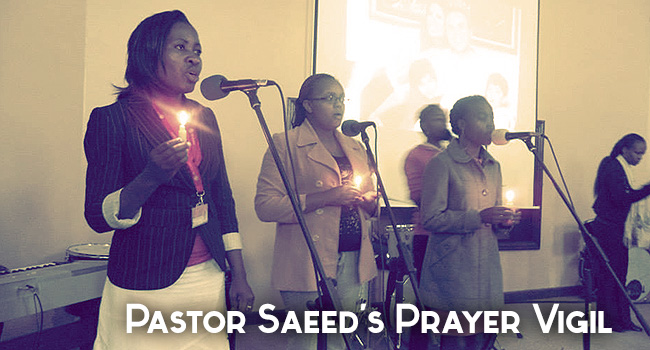 Pastor Saeed's Prayer Vigil